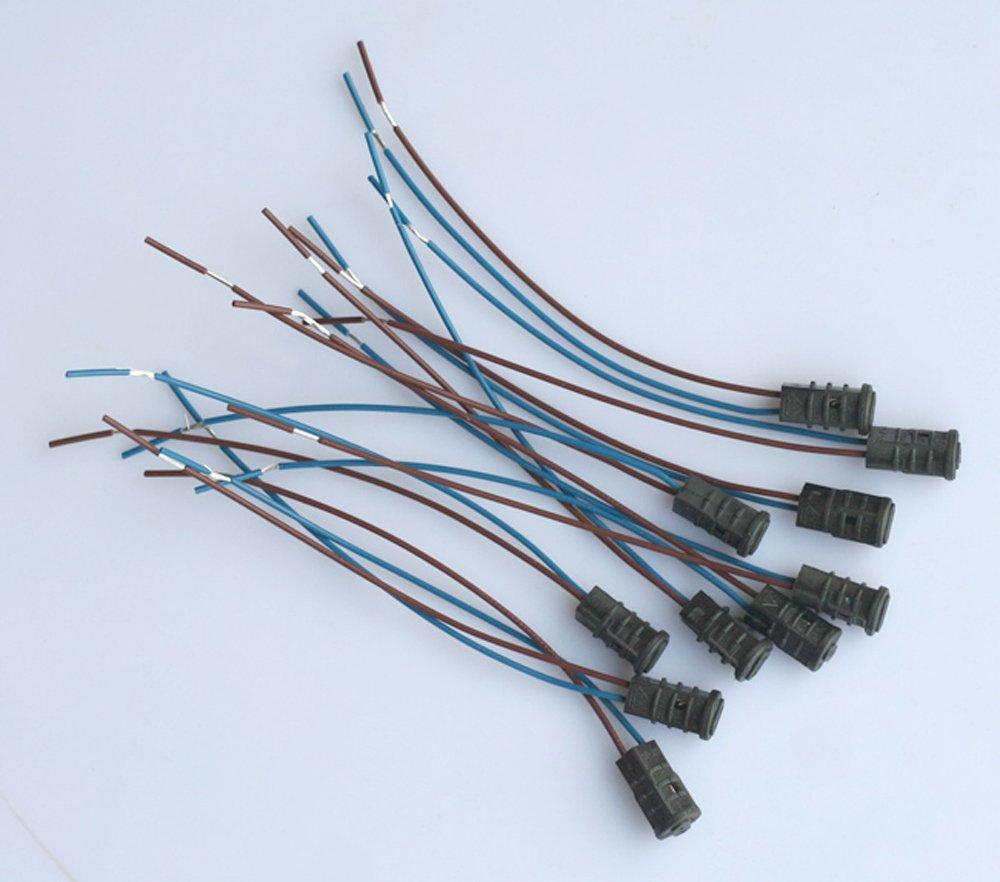 20x G4 Fassung Sockel Adapter Kabel f. LED Halogen Lampe Birne Licht Spotlight ShuoHui