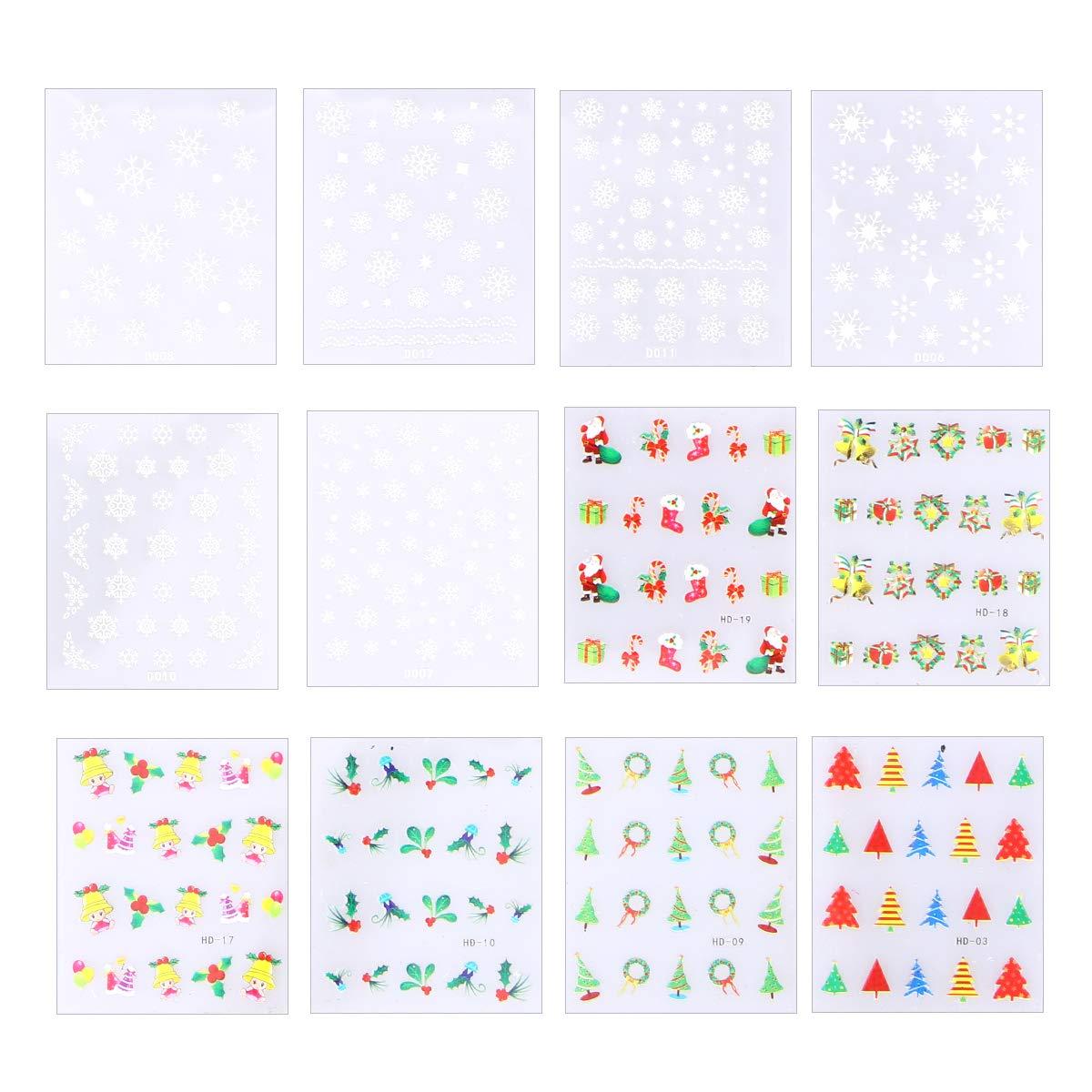 pegatinas adhesivas navideñas