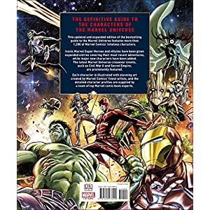 Marvel Encyclopedia, New Edition Hardcover – April 2, 2019