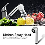 Faucet Replacement Sprayer Pull Out Spray Head for Kitchen Sink Pull-Down Faucet Chrome Finished for Bathroom Kitchen