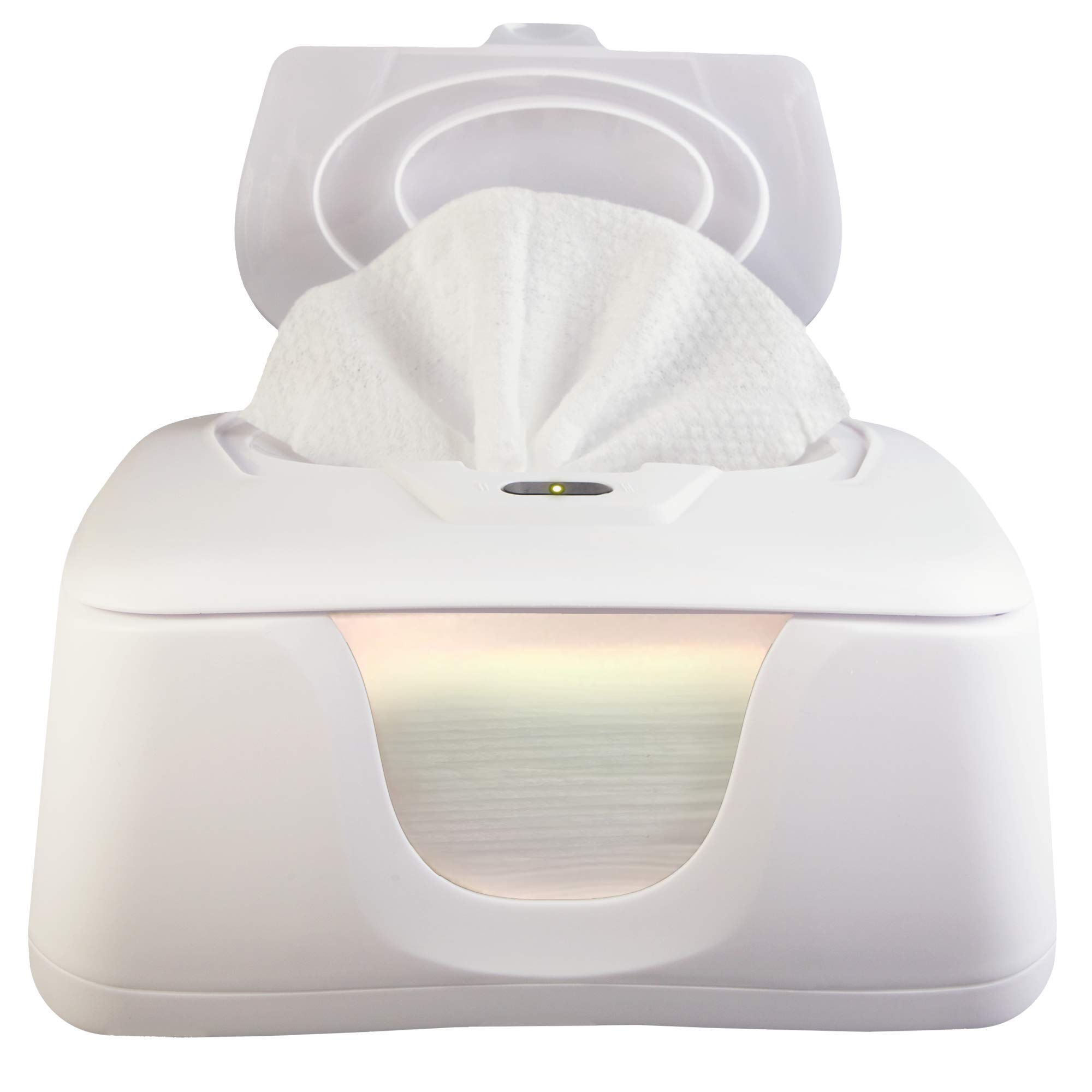 GOGO PURE Baby Wipes Warmer and Dispenser, Advanced Features with 4 Bright Auto/On Off LED Ample Lights for Easy Nighttime Changes, Dual Heat for Baby's Comfort, Improved Design and Only at Amazon