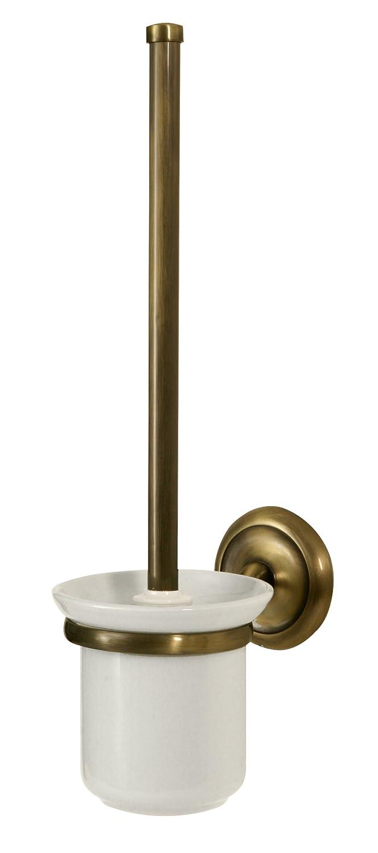 Bisk 00412 Deco Toilettenbürstengarnitur Mit Bürstenhalter Antik