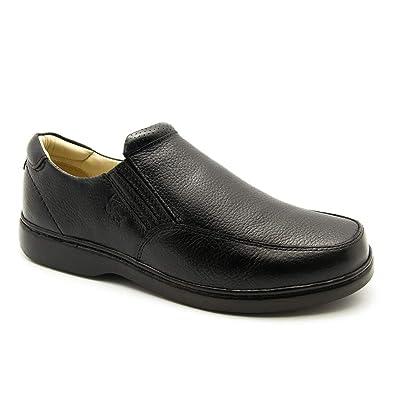 8e616301d Sapato Masculino 410 em Couro Floater Preto Doctor Shoes: Amazon.com ...