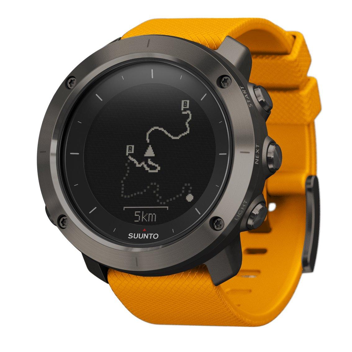 SUUNTO TRAVERSE (スント トラバース) スマートウォッチ GPS 登山 気圧計 [日本正規品] B016RJB8NK アンバー アンバー
