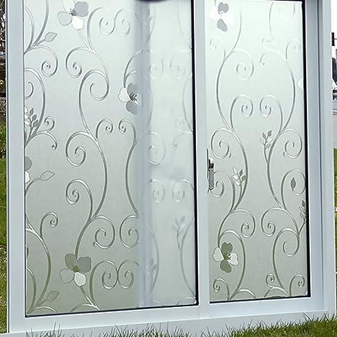 Kinlo® Selbstklebende Folie Für Fenster 90X200Cm Glasfolie Für