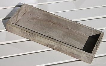 25x10x3cm Kerzentablett Holztablett Zum Dekorieren Holz Tablett