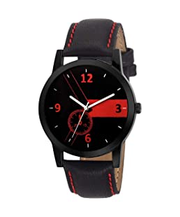 Rustet Analogue Black Dial Men's & Boy's Watch RS-01