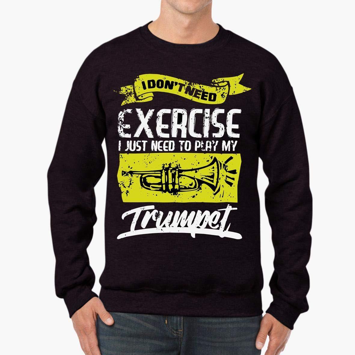 Trumpet Exercise Unisex Sweatshirt tee