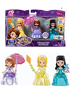 Disney Sofia The First Princess Sofia U0026 Friends Figures Set Amber U0026  Hildegard