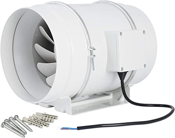 Inline Bathroom Exhaust Fan Installation