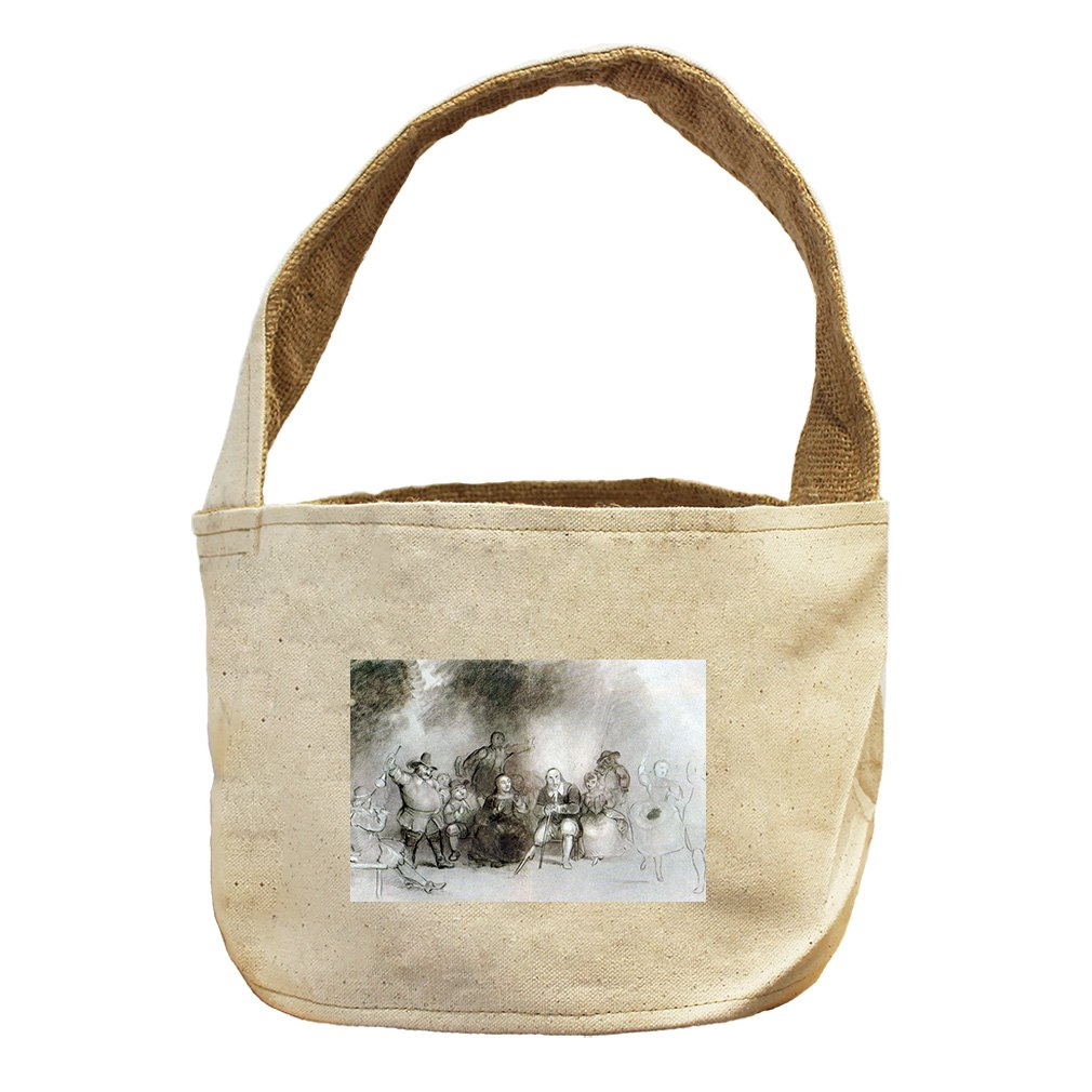 Style in Print Peter Stuyvesant To Dance Event (Durand) Canvas and Burlap Storage Basket