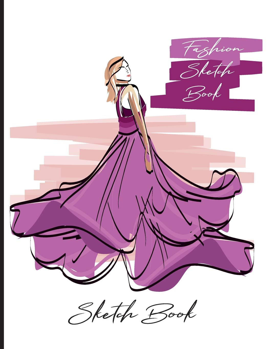 Buy Fashion Sketch Book Sketch Your Style Blank Unlined Practice Paper Design Drawing Sketching Doodling Sample Model Fashion Sketches For Beginners Size 8 5 X11 Volume 1 Fashion Designer Sketchpad Book Online At Low