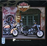 Harley Davidson - Motor Cycles - FAT BOY - 500 Pc - F.X. Schmid Puzzle