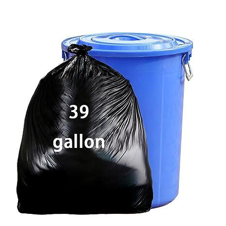 Amazon.com: nicesh 39 galón césped y hoja bolsas de basura ...