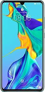 Huawei P30 Dual Sim - 128 GB, 8 GB Ram, 4G LTE, Aurora