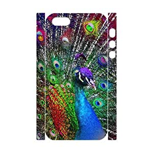 Peacock Phone Case For iPhone 5,5S [Pattern-1] by mcsharks