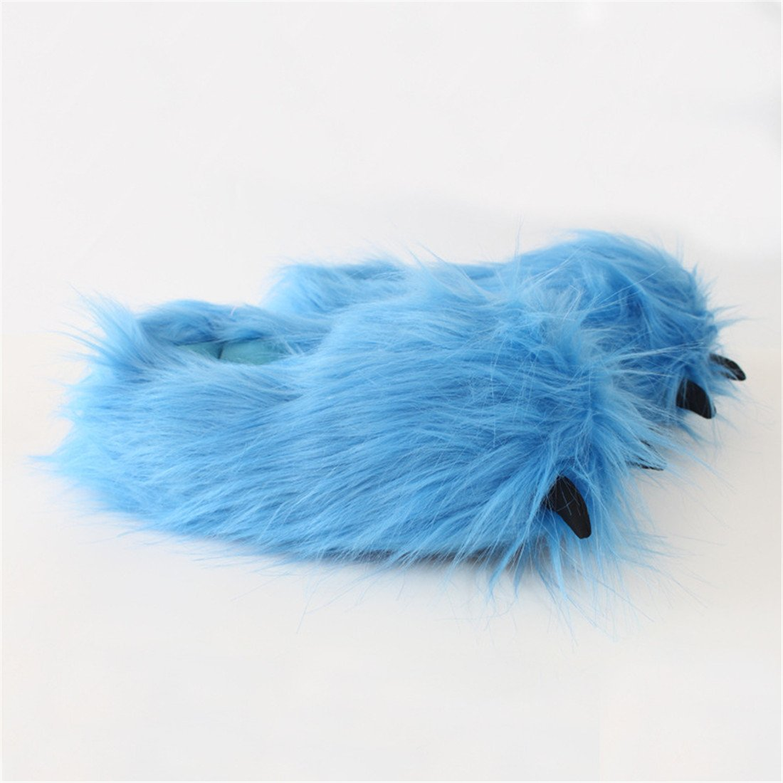 ぬいぐるみおもちゃ愛らしいぬいぐるみスリッパCozy動物スリッパハロウィンスリッパ B07DBPLTRN  6 Large