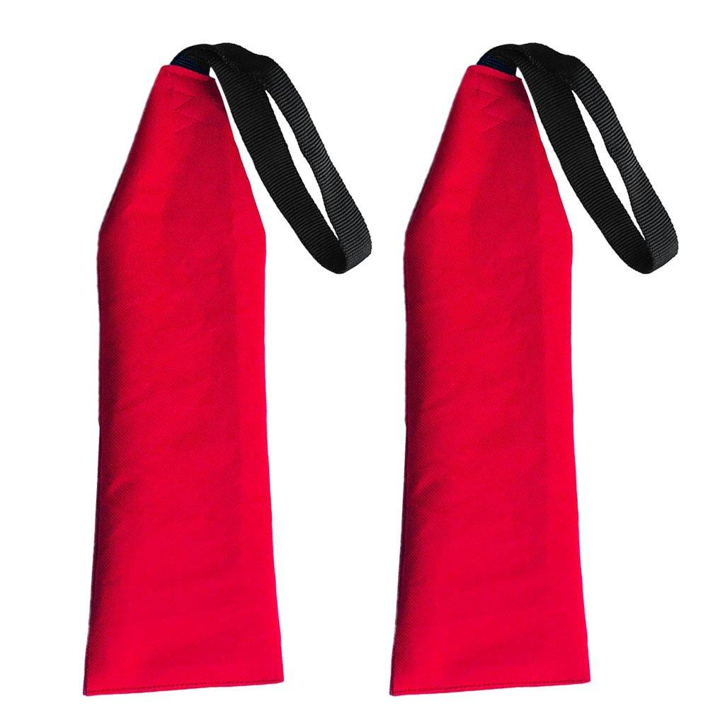 Baosity 2Pcs Safety Flag Canoe Kayak Long Load Red - Kayak Accessories