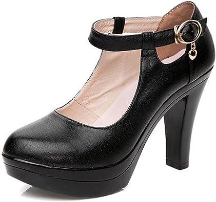 KALENDS Ladies Black Genuine Leather
