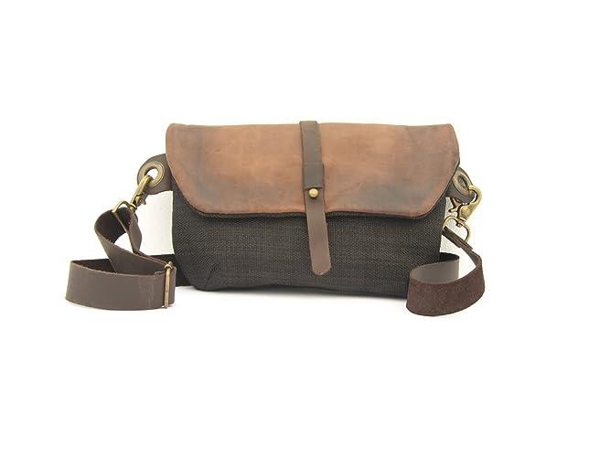 48962b7d50fd Amazon.com  Hip Bag - Fanny Pack - Traveler Bag - Utility Hip Belt - Hip  Pouch  Handmade