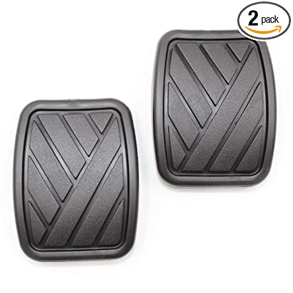 Amazon.com: Koauto 2pcs Brake Clutch Pedal Pads for Suzuki Swift Samurai Sidekick Geo Metro: Automotive