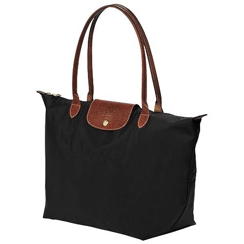 Longchamp Le Pliage Large Tote Bag (Black)  Amazon.co.uk  Shoes   Bags fdeee8bbf3cc3