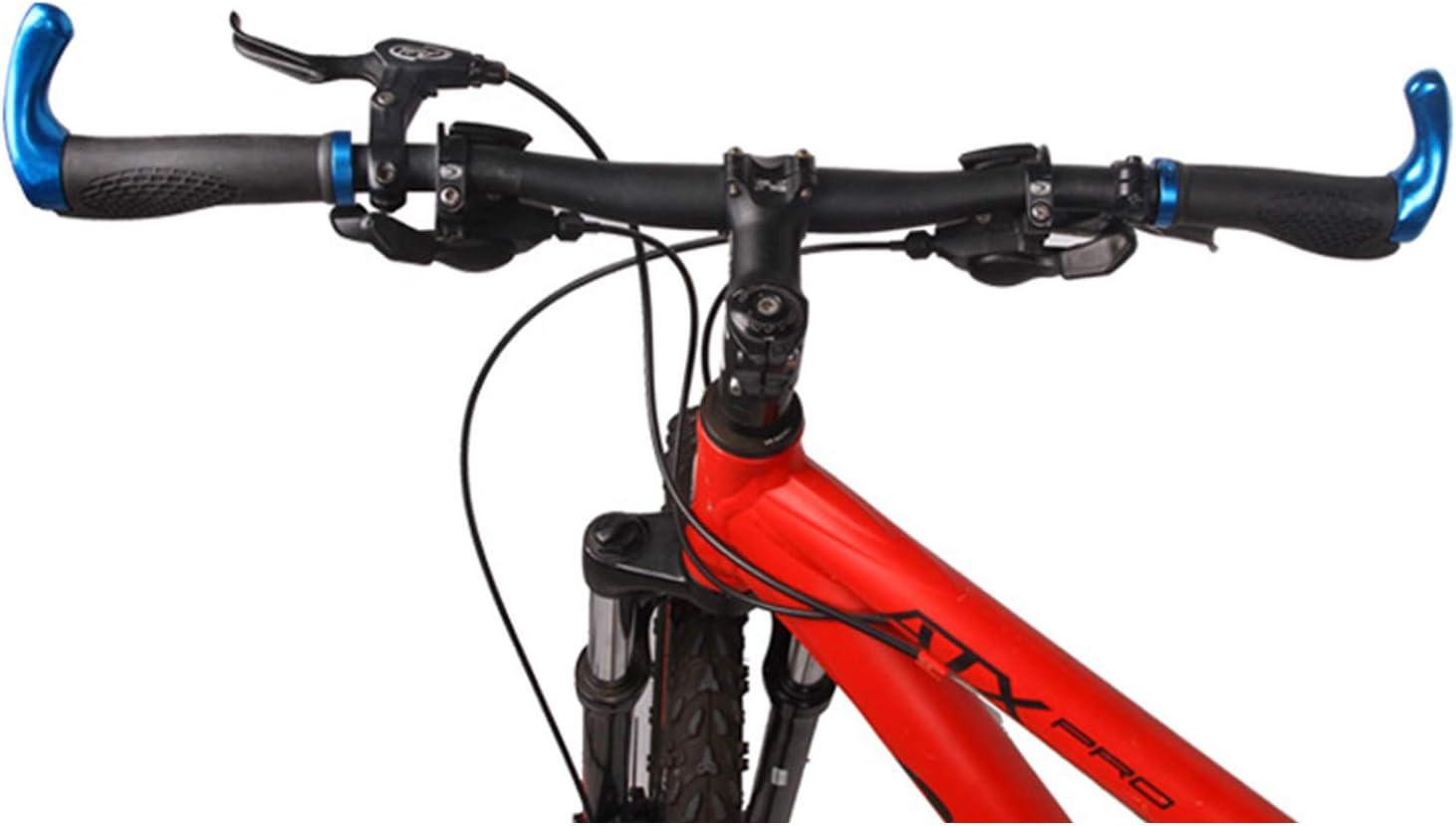 Qianyou - Puños para manillar de bicicleta, 2 mangos ergonómicos ...