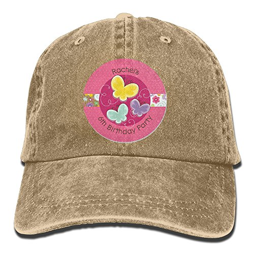 Hunger Games Butterfly Costume (LLTL Playful Butterfly And Flowers Washed Retro Cowboy Hat)