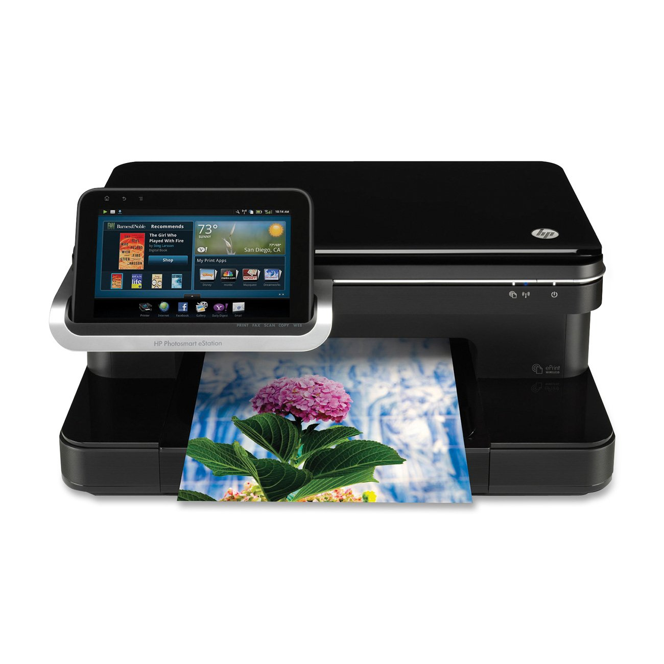 amazon com hp photosmart estation all in one cq140ab1h electronics rh amazon com hp photosmart 5510 user manual Install HP Photosmart Wireless Printer