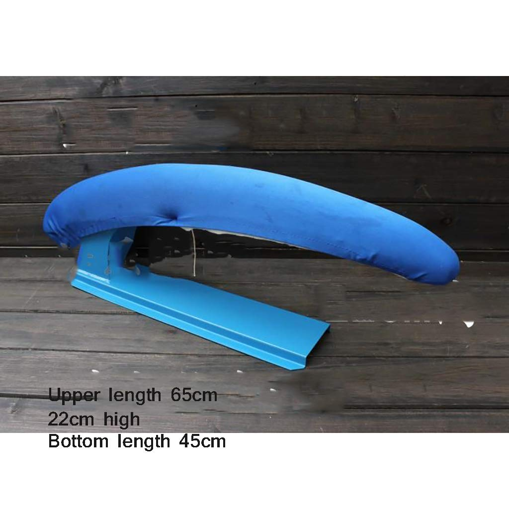 Professional Mat Contorno Acero Superior Robusto a Prueba de Calor Azul Esponja Grande Tabla para Planchar Mangas A