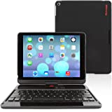 Snugg™ iPad Air 360 Degree Rotatable Keyboard Case - High Quality Cover with Ultra Slim Swivel Bluetooth Keyboard - Apple iPad 360 Degree Rotating Keyboard Compatible with iPad Air - Lightweight, Quality and Easy to Set up!