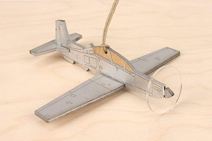 Amazon.com: T-6 Texan II plane ornament: Handmade