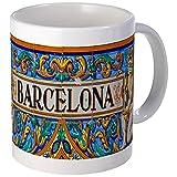 CafePress - Barcelona Mosaica Mugs - Unique Coffee Mug, Coffee Cup