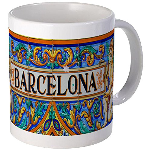 CafePress - Barcelona Mosaica Mugs - Unique Coffee Mug, Coffee Cup by CafePress