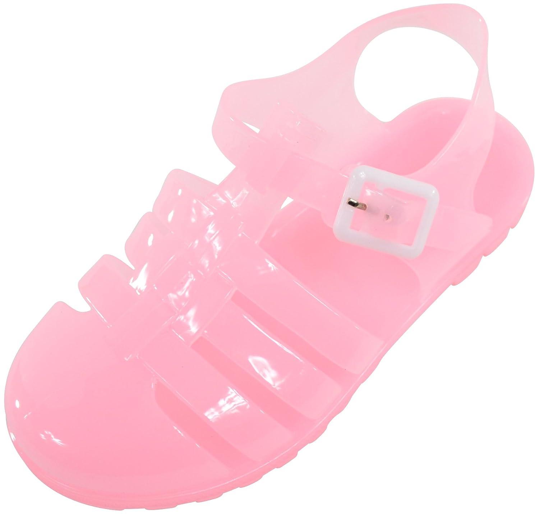 Girls Summer Holiday Jelly Shoes Sandals Garden Beach Kids Childrens