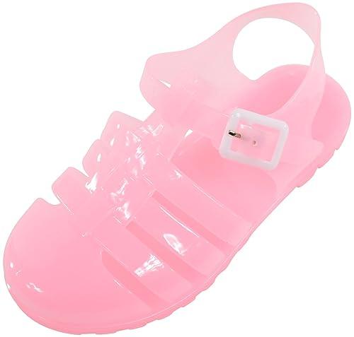 Absolute Footwear, Sandali bambini nero nero, nero (Black), 25,5 EU