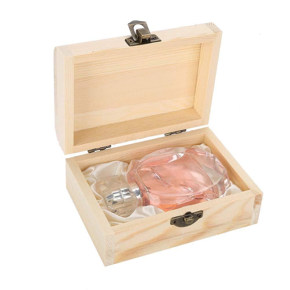 60Ml Women Lady Longlasting Perfume Flower Wood Fragrance Perfume(Pink) ZJchao
