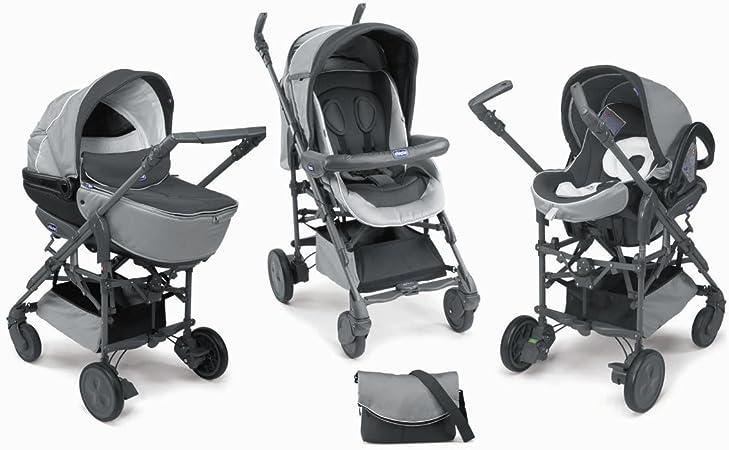 Chicco - Pack silla de paseo trio living smart elegance: Amazon.es: Bebé