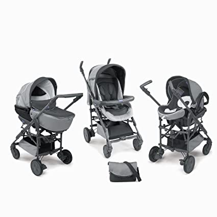 Chicco - Pack silla de paseo trio living smart elegance ...