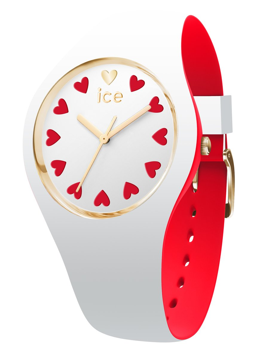 Ice-Watch 013370 ICE LOVE WHITE SMALL 35.5mm Silicone Watch