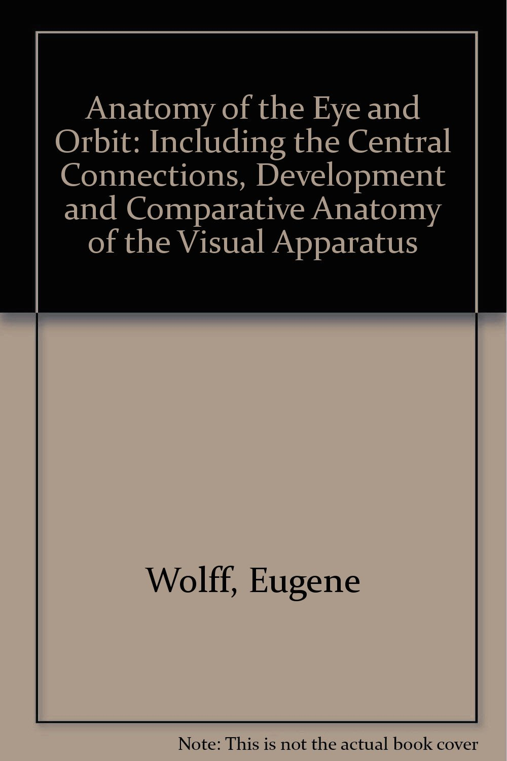 Anatomy of the Eye and Orbit: Including the Central Connections ...