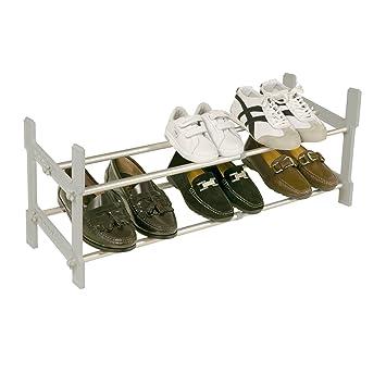 Rayen 6035 Rangement chaussures extensible aluminium 29.5 x 29 x ...