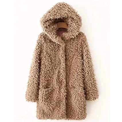 Clearance! MatureGirl Cloak Women Casual Solid Warm ...