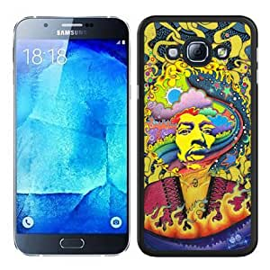 Jimi Hendrix Black Special Custom Picture Design Samsung Galaxy A8 Phone Case