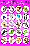 Trends International Littlest Pet Shop Grid Wall Poster 22.375
