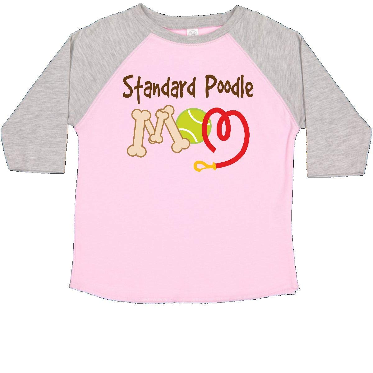 inktastic Standard Poodle Dog Mom Toddler T-Shirt