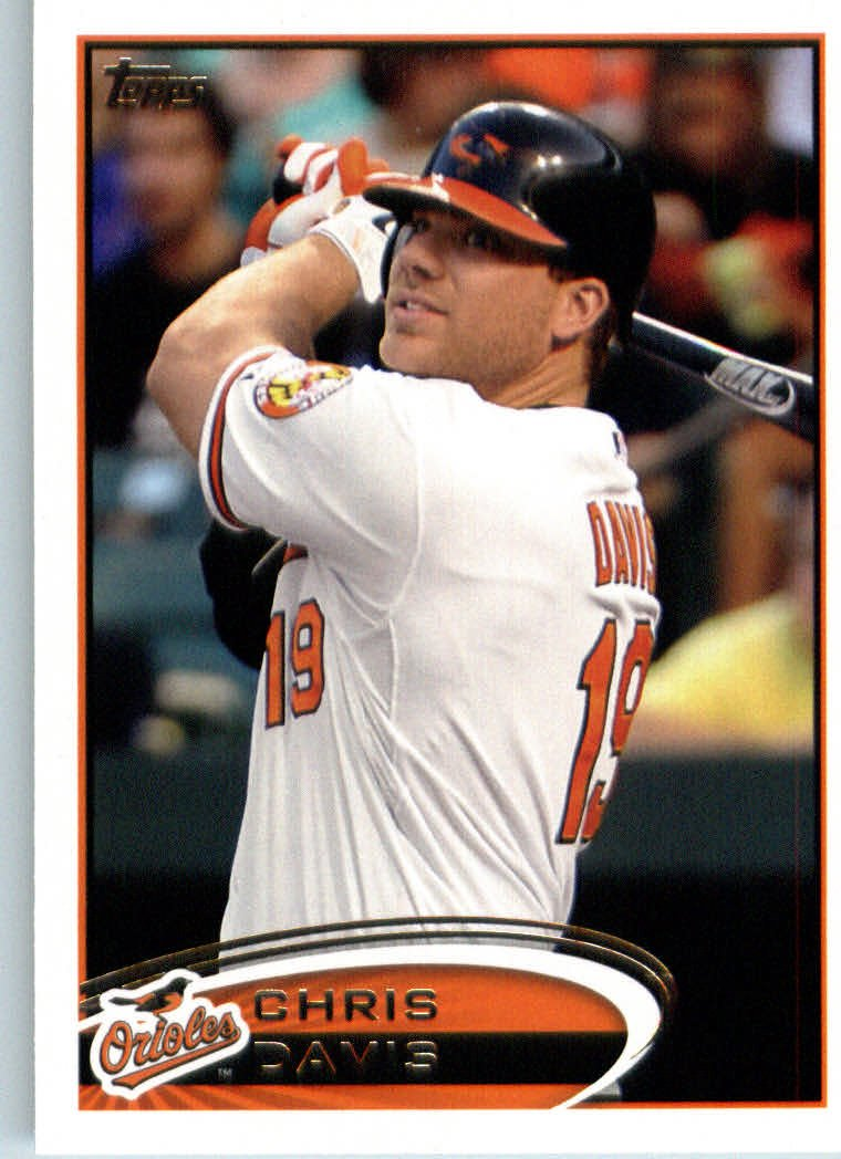 Amazoncom 2012 Topps Mini Baseball Card 151 Chris Davis