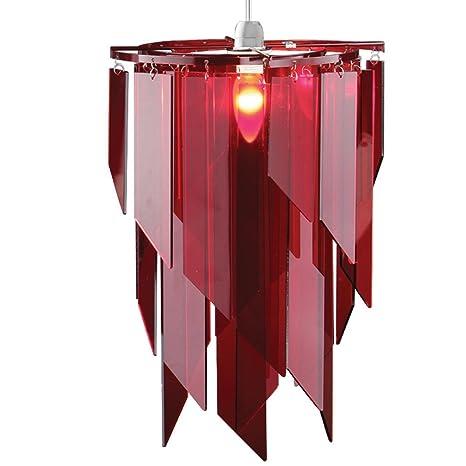 Sombra lámpara de techo hecho de Material acrílico con corte ...