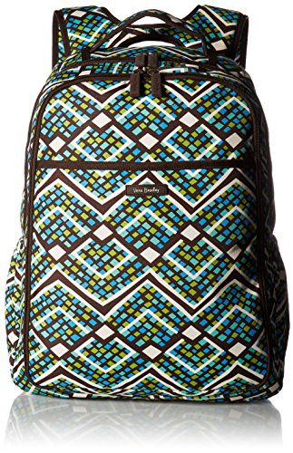 Vera Bradley Women's Lighten up Backpack Baby Bag, Rain Forest