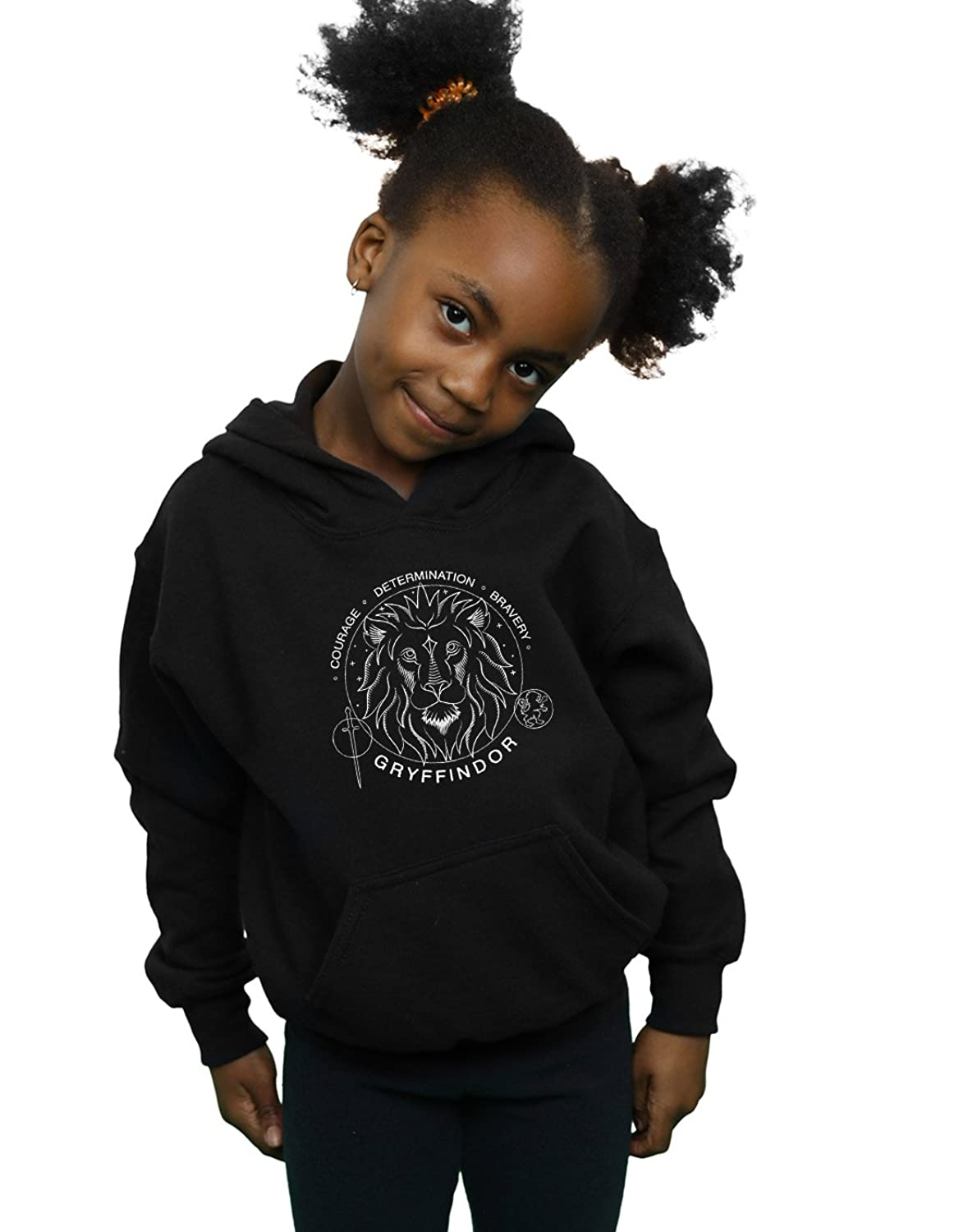 Absolute Cult Harry Potter Fille Gryffindor Seal Sweat À Capuche